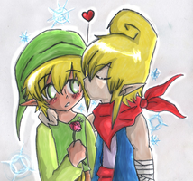 Link x Tetra by BanzaiLuffy