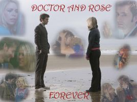 Doctor and Rose-Forever by BadWolf86