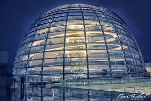 Reichstag Dome by IsacGoulart