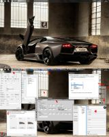 Parking W7 Edition - Reventon by ezio
