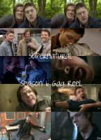 Season 6 Gag Reel Pics by ZombiePlatypusRush