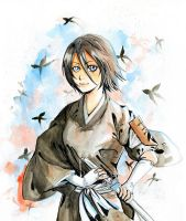 Vice Captain Rukia by Vassantha