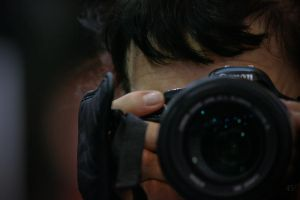 in the eye of the paparazi by easycheuvreuille