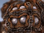 Leather Beads by batjorge
