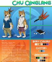 Commission: Chu Qinglang REF sheet by H-StallionWolf