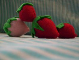 First Time Strawberries by soribanana18