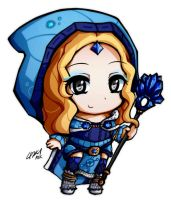 ChibiDota - Crystal Maiden by ATK402
