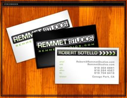 Cards : Remmet Studios by cynicdesign