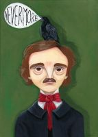 Nevermore by theillustratedbear