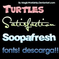 Wonderfil Fonts by MagicWorldxHp