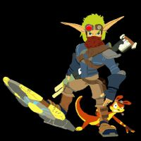 Jak and Daxter by cloudzero85