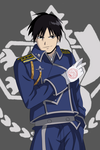 Roy Mustang (Fullmetal Alchemist Brotherhood) by KarolG66