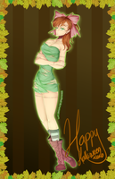 Sailor Jupiter: Halloween Edition by Kawaiiipoop