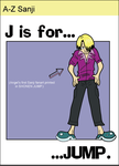 A to Z Sanji - j by airlobster