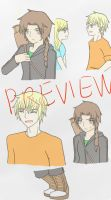 Hunger Games manga preview by DebbylovesFF