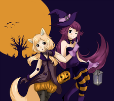 trick and treat by Hikarimika