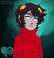 Kankri Vantas by Clock--Heart