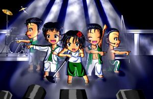Jacob and His Band by AnimeChick4DDR