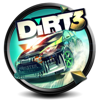 Dirt 3 PNG icon by S7 by SidySeven