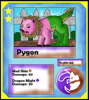 Pygon Card (Adopt) by Dianamond