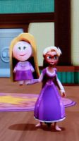 Rapunzel Townspeople by Mileymouse101