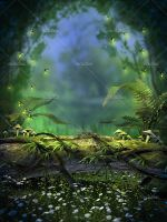 Spring Fireflies 1 by Trisste-stocks
