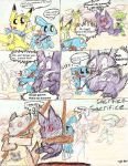 PMD gengar comic by Plaid-pichu
