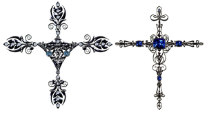 decorative  crosses by Lyotta