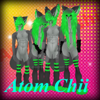 Atom Chii Re Vamped by AnaKyonshi