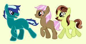 Earth Pony Adopts! CLOSED by SnowRoseAdopts