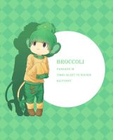 Sheer Cold Gijinka: Broccoli by Ringo-Mikan