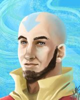 Avatar Aang by CarishinLove