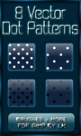 8 GIMP Vector Dot Patterns XL by el-L-eN