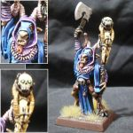 Great Bray-Shaman with the mark of Tzeentch by Taelonar