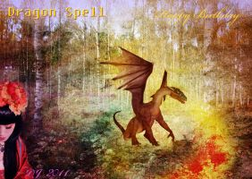 Dragon Spell by starlight2infinity