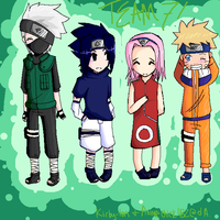 Team 7 by animechick482