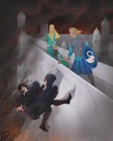 The Fall of Gondolin by 0torno