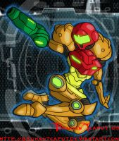 Samus Aran by BrokenTeapot