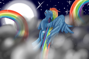 Rainbow Dash's Serenity by royalppurpl3