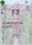 Scarecrow Girl Front Cover 1 by kaijukid