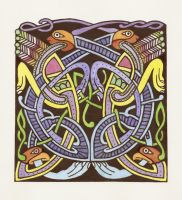 Celtic Animals_Book of Kells by gforce7