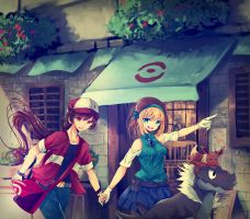 To Lumiose City ! by Misical