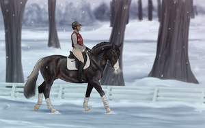 Braving the Elements by Ekaterina-Rose
