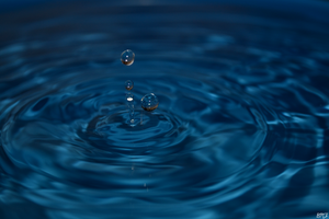 Water drop by Tayley