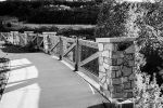 Bridge on Traverse Mountain (Black and White) by artisticimposter