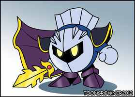 Metaknight by toongrowner