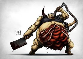 DOTA - Pudge the Butcher by Geoffrey-E