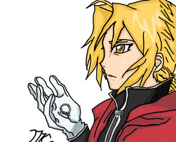 Edward Elric FMA Re-done in color by Lina1562