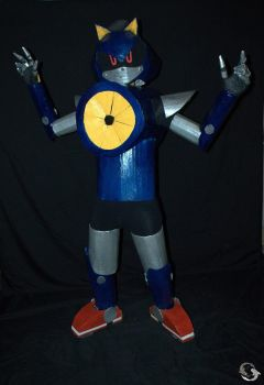 Metal Sonic Cosplay 6 by ViluVector