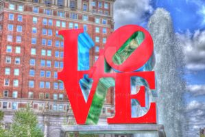 Love Park HDR 01 by GoberSA